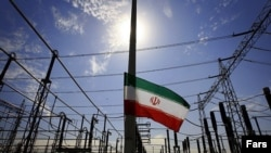 A general view of the electricity power plant in Iran.