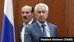 Рамазан Абдулатипов и Владимир Васильев