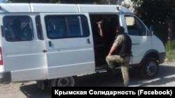 It was not immediately clear why the searches were conducted in the village of Sary-Su.