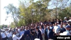 Протест у місті Жанаозен, Казахстан, 3 вересня 2019 року