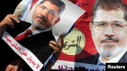 Під час однієї з акцій у Єгипті на підтримку Мухаммада Мурсі