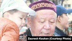 Қала тұрғыны Нұрмахан Жанұзақұлы. Алматы, 22 наурыз 2013.