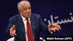 U.S. envoy Zalmay Khalilzad is traveling to Afghanistan, Qatar, and elsewhere as part of peace efforts.
