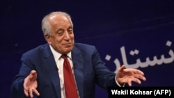 The U.S. special representative for Afghan peace and reconciliation, Zalmay Khalilzad.