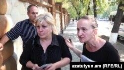 Որդեկորույս մայրերը Բաղրամյան 26-ում, Երևան, 24-ը սեպտեմբերի, 2015թ.