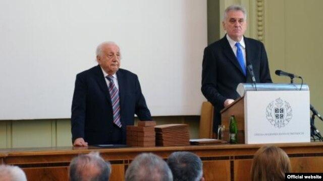 Tomislav Nikolić i SANU, novembar 2012.