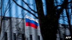 Здание посольства России в Вашингтоне.