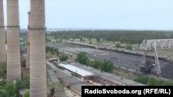 Вигляд з даху Луганської ТЕС