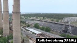 Луганская ТЭС в городе Счастье (архивное фото)