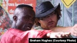 Graham Hughes në Togo, 4 gusht 2009.