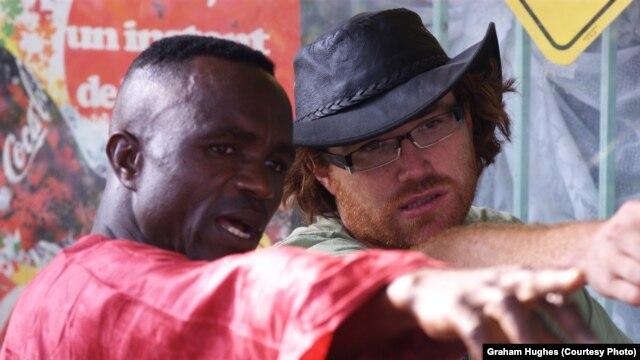 Hughes in Togo in 2009