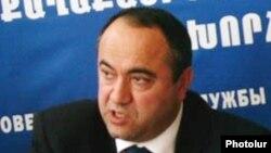 Председатель Совета гражданской службы Мнвел Бадалян (архив)