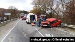 Аварія в районі села Грушівка