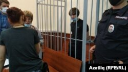 Азат Мифтахов на заседании суда