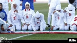 The Iranian women's football team had to forfeit a match against Jordan because they reportedly refused to play without the hijab.