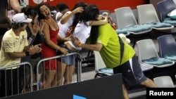 Safin's days as a womanizing tennis star are now a distant memory.