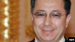 Жансеит Туймебаев в бытность министром образования и науки Казахстана.