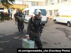 Спасатели на шахте