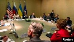 Встреча в Женеве по урегулированию кризиса на Украине, 17 апреля 2014