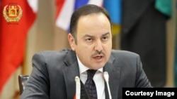 Afghan Finance Minister Eklil Hakimi