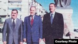 Vasif Talıbov, Heydər Əliyev və İlham Əliyev