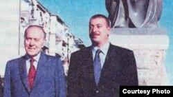 Heydər və İlham Əliyevlər