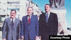 Vasif Talıbov, Heydər Əliyev, İlham Əliyev