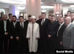 Романия президенты Клаус Йоһаннис ифтарда Бухарестта, 2015 ел