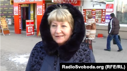 Жительница Донецка