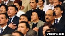 Бишкекте Токтогул Сатылганов атындагы улуттук филармонияда Конституция күнүнө карата салтанаттуу жыйын өттү.