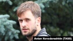 Участник Pussy Riot и издатель «Медиазоны» Петр Верзилов