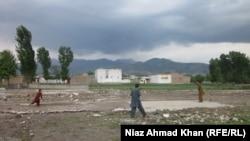 Pamja e kompleksit të bin Ladenit në Abotabad të Pakistanit