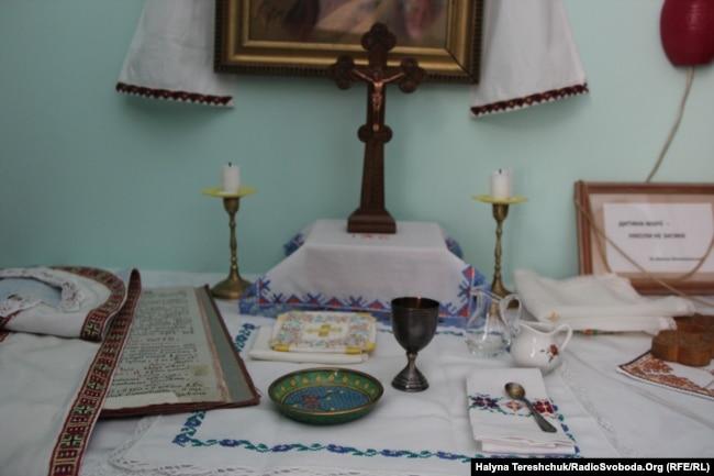 Вівтар єпископа Величковського у кімнаті