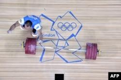 Илья Ильин Лондон олимпиадасында. 2012 жылдың тамызы.