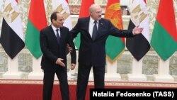 Абдэль Фатах Ас-Сісі і Аляксандар Лукашэнка