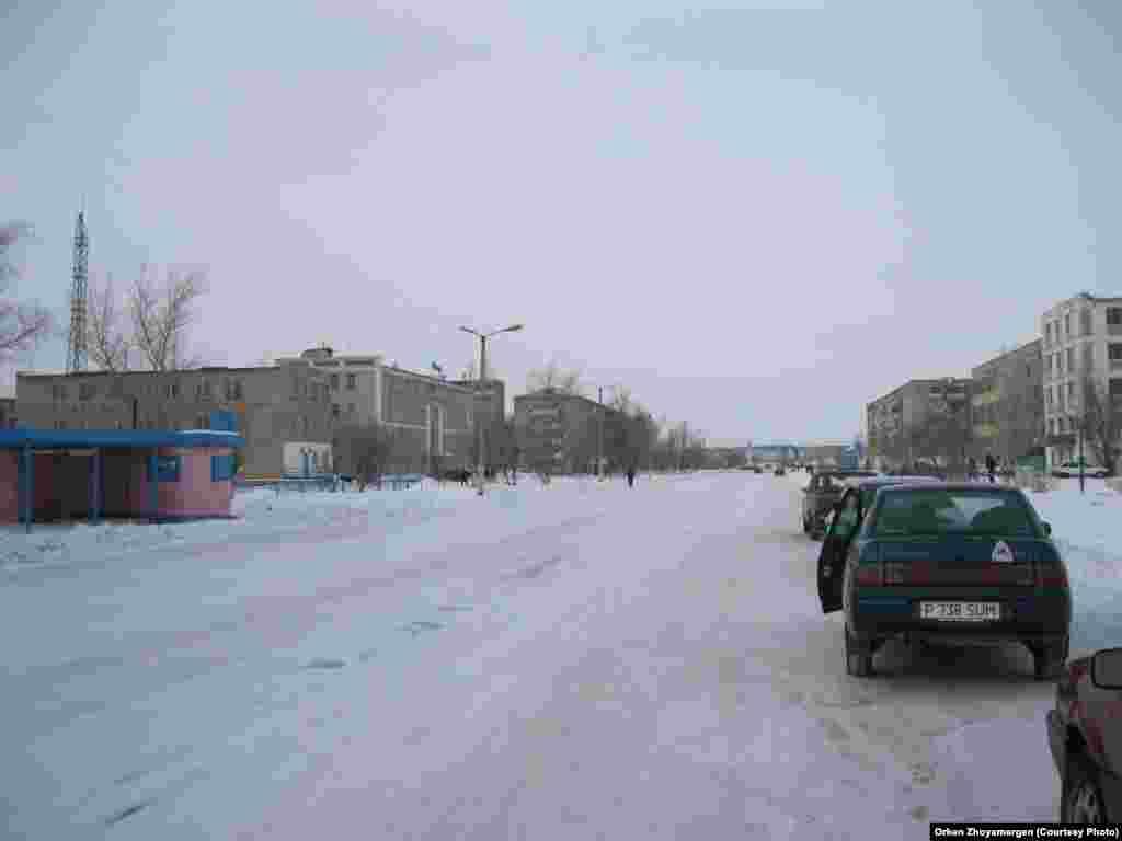 Улицы Аркалыка.