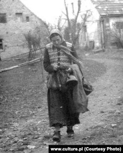 Бронислава Вайс, фотография Ежи Фицовского из архива Тарновского окружного музея