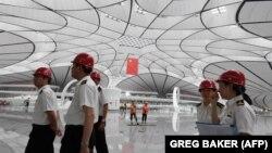 کار ساخت فرودگاه جدید «بیجینگ داشینگ» در پکن اواخر ماه ژوئن پایان یافت و قرار است آخر ماه سپتامبر افتتاح شود