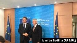 Klaus Iohannis, președintele României, în vizită la Strasbourg