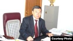 Аким Темирского района Бауыржан Каниев.
