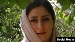 File Photo - Atefeh Rangriz, researcher arrested and sentenced in Iran for participating in May 1, International Labor Day protest.