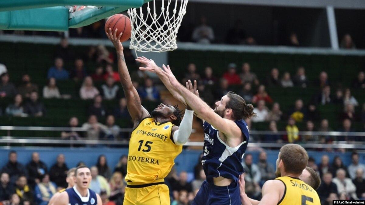 «Киев-Баскет» потерпел первое поражение в Кубке Европы FIBA