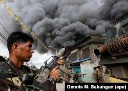 Бои с повстанцами-исламистами на юге Филиппин. 2016 год