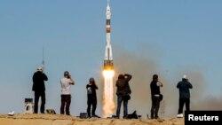 """Союз МАС-10"" ракетасын учуруу маалы. Казакстан. 11-октябрь, 2018-жыл."