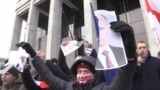 Hundreds Protest In Minsk Against Union State With Russia GRAB1