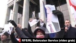 Тазоҳуроти мардуми норозӣ дар Беларус
