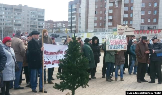 Экологические протесты в Череповце