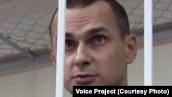Украинский режиссер Олег Сенцов, осужденный в России по обвинению в терроризме.