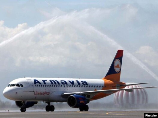 Armavia's new  Airbus A320