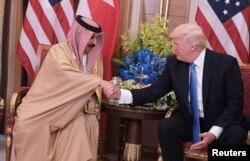Встреча президента США и короля Бахрейна - 21 мая 2017